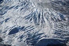 Gletscher in Gadmen, die Schweiz Lizenzfreies Stockfoto
