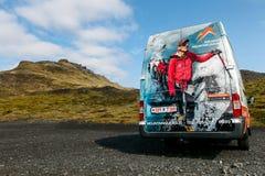 Gletscher geht Packwagen Stockfoto