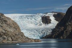 Gletscher in Grönland Stockfotos