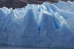 Gletscher-Grau, Nationalpark Torres Del Paine, Chile Stockbild