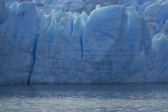 Gletscher-Grau, Nationalpark Torres Del Paine, Chile Lizenzfreie Stockbilder