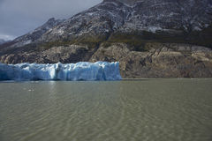 Gletscher-Grau, Nationalpark Torres Del Paine, Chile Lizenzfreie Stockfotos
