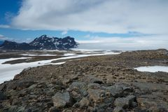 Gletscher in Island stockfotografie