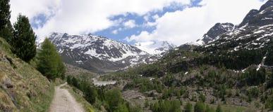 Gletscher in Italien Lizenzfreies Stockfoto