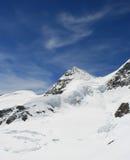 Gletscher Jungfraujoch Stockbild