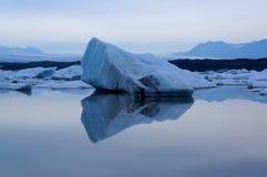 Gletscher-Lagune in Island Lizenzfreies Stockbild