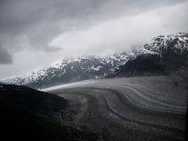 Gletscher-Landschaft Stockbild