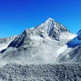 ¼ Gletscher 3000m sonniger SÃ dtirol Berg lizenzfreies stockbild