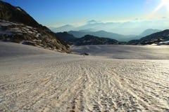 Gletscher morgens Lizenzfreies Stockfoto