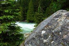 Gletscher N P - Montana Lizenzfreie Stockbilder
