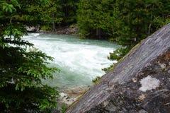 Gletscher N P - Montana Lizenzfreies Stockfoto