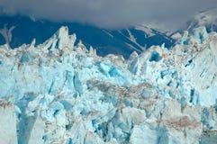 Gletscher-Nahaufnahme stockbilder