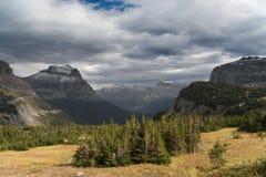 Gletscher-Nationalpark Stockbild