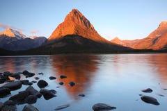 Gletscher-Nationalpark Stockfotos