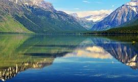 Gletscher-Nationalpark Montana lizenzfreie stockbilder