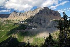 Gletscher NP, Berge Stockfoto