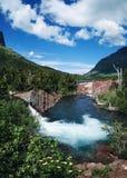 Gletscher-Park A Stockbilder