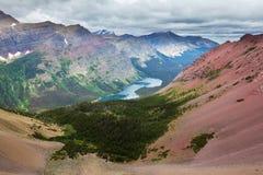 Gletscher-Park stockbilder