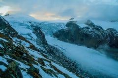 Gletscher Pasterze Stockfoto