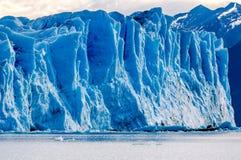 Gletscher Perito Moreno stockbilder