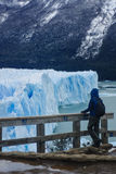 Gletscher Perito Moreno Stockfotografie