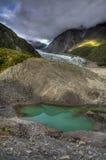 Gletscher-Pool lizenzfreie stockfotos