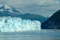 Gletscher-Schacht stockbild