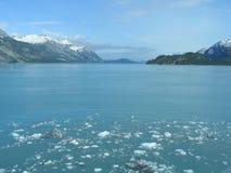 Gletscher-Schacht Alaska Stockfotografie