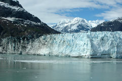 Gletscher-Schacht Alaska lizenzfreie stockfotos