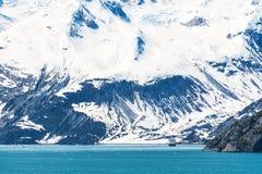 Gletscher-Schacht-Nationalpark, Alaska Stockbilder