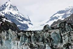 Gletscher-Schachtschuß Stockfotos