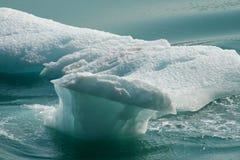 Gletscher-Scherbe Stockbild