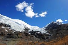 Gletscher in Tibet Lizenzfreies Stockbild