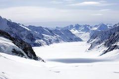 Gletscher und Berg Lizenzfreie Stockbilder