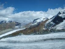 Gletscher und Berge Lizenzfreie Stockbilder