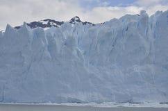 GLETSCHER UND GLOBALE ERWÄRMUNG PERITO MORENO IN PATAGONIA ARGENTINIEN EL CALAFATE Stockbilder