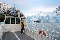 Gletscher Upsala Stockbild
