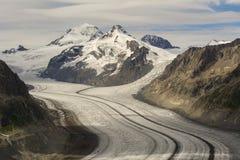 Gletscherdetails lizenzfreie stockfotos