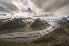 Gletscherdetails lizenzfreies stockbild