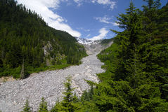 Gletscherfluß Lizenzfreie Stockfotos