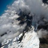 Gletscherflug Stockfotos