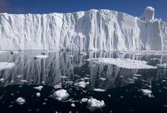 Gletschergesicht Stockfoto
