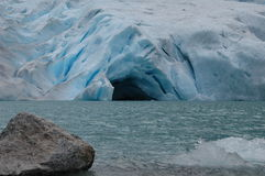 Gletscherhöhle Stockfotografie