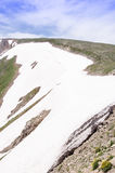 Gletscherlöschung Stockfotografie