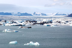 Gletscherlagune Lizenzfreies Stockbild