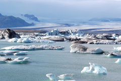 Gletscherlagune Stockfotografie