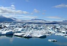 Gletscherlagune Stockfoto