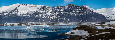 Gletscherlandschaft in der Arktis Lizenzfreie Stockfotos