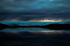 Gletscherreflexion, Grönland Stockbilder