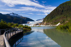 Gletscherschacht Lizenzfreie Stockfotos